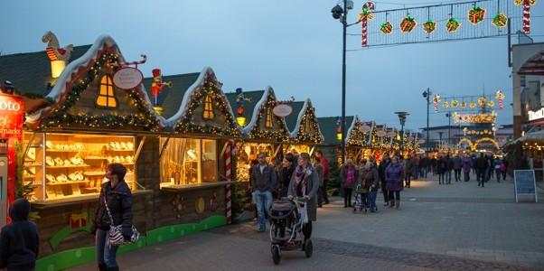 kerstmarkten Centro Oberhausen